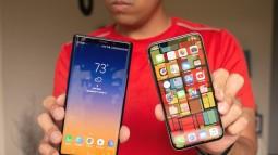 Thử thách thả rơi Galaxy Note9 và iPhone X: Cả hai đều dùng kính nhưng bên nào bền hơn?