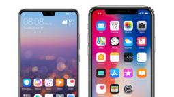 """Huawei so sánh tai thỏ trên P20 với iPhone X và kết luận: """"Rãnh phải nhỏ mới tốt"""""""