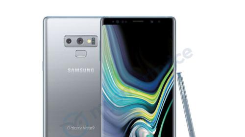 Lộ diện phiên bản Galaxy Note 9 màu bạc TVD