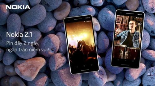 Nokia 2.1 trở lại với năng lượng giải trí bất tận