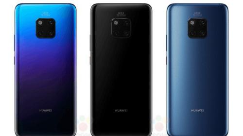 Huawei Mate 20 Pro lộ toàn bộ thông số và giá bán