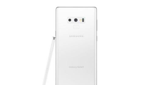 Galaxy Note9 màu trắng tinh khôi có thể sẽ được ra mắt vào đúng dịp Giáng Sinh