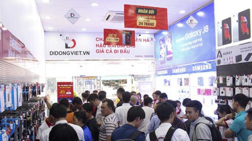 Mua iPhone 7 Plus, 8 Plus, X và Xs Max trúng 19 chỉ vàng 9999 tại Di Động Việt