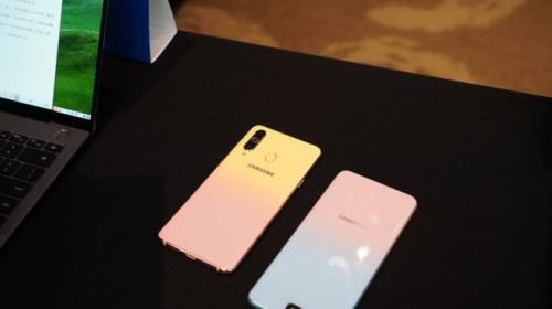 Samsung sẽ ra mắt Galaxy A8s FE với màu gradient vào đúng ngày Valentine
