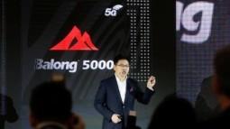 Huawei ra mắt chip modem 5G Balong 5000 mạnh nhất thế giới