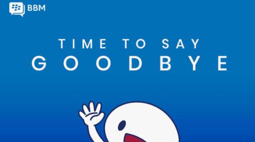 BlackBerry đóng cửa dịch vụ nhắn tin BBM