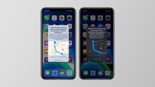 iOS 13 cho phép người dùng biết được ứng dụng nào đang theo dõi vị trí của mình