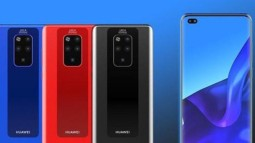 Đây là Huawei Mate 30 Pro với màn hình AMOLED 90Hz, 4 camera sau?