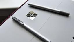 Microsoft đang nghiên cứu loại bút Surface Pen dẻo, có thể uốn cong thành tai nghe không dây