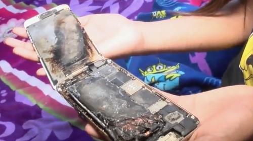 iPhone 6 bốc cháy trên tay bé gái 11 tuổi tại California