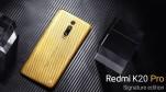 Xiaomi trình làng Redmi K20 Pro Signature Edition, lưng bằng vàng nguyên chất, đính kim cương, chỉ sản xuất 20 chiếc
