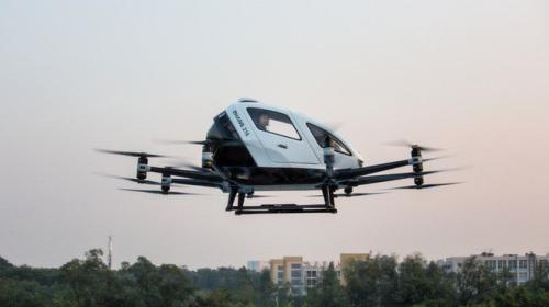 Quảng Châu, Trung Quốc sắp triển khai dịch vụ chở khách bằng xe bay