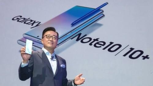 Sếp Samsung khẳng định cuộc chiến thương mại Nhật–Hàn không ảnh hưởng đến Galaxy Note 10 nhưng tương lai thì không chắc