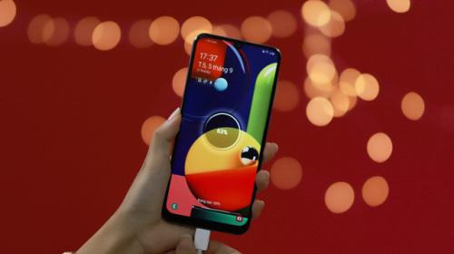 Samsung Galaxy A50s: thêm lựa chọn smartphone 4 camera đa năng với thiết kế mới lạ