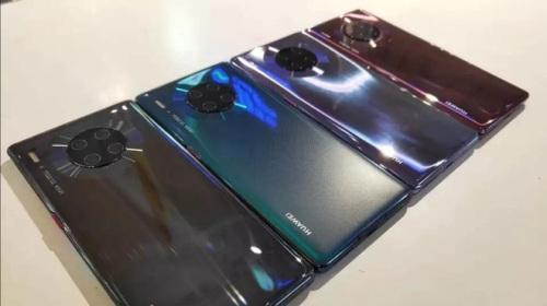 Huawei Mate 30 Pro có thể quay video siêu slow-motion với tốc độ lên đến 7.680 fps