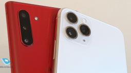 Có lợi thế của người đi sau, nhưng iPhone 11 cũng chẳng hơn được Galaxy Note 10
