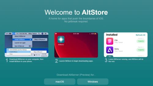 AltStore, cửa hàng ứng dụng trong mơ cho người dùng và là nỗi ác mộng của Apple