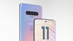 Mãn nhãn với ảnh render dự đoán thiết kế tuyệt đẹp của Samsung Galaxy S11