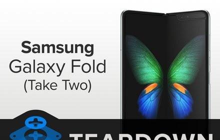 iFixit tiến hành 'mổ bụng' Galaxy Fold để xem Samsung đã sửa nó như thế nào