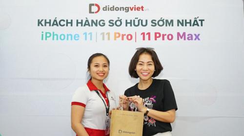 Ca sĩ Thu Minh chọn Di Động Việt để lên đời iPhone 11 Pro Max