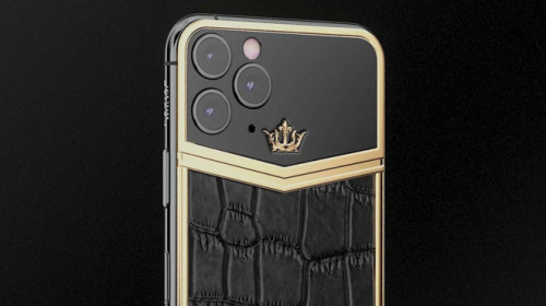 """Caviar giới thiệu thiết kế iPhone 11 Pro mới, không còn """"chướng mắt"""" với cụm camera vuông nữa"""