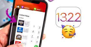 Apple tung ra iOS 13.2.2 sửa lỗi đa nhiệm trên iPhone và iPad