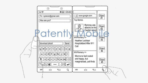Samsung cũng có bằng sáng chế smartphone màn hình kép như Surface Duo