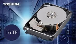 Toshiba công bố hàng loạt ổ cứng dung lượng đến 16TB