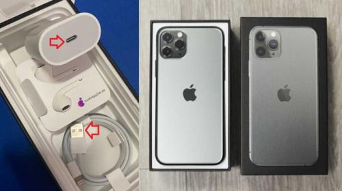 Mua iPhone 11 Pro Max mới, người đàn ông nhận được cáp sạc USB-A cũ kèm trong hộp