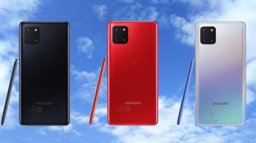 Gần một tháng trước khi ra mắt, Galaxy Note 10 Lite lộ toàn bộ cấu hình chính thức và giá bán
