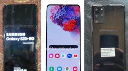 Lộ ảnh thực tế Samsung Galaxy S20+, màn hình đục lỗ giống Note 10, cụm camera sau hình chữ nhật