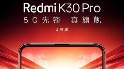 """""""Smartphone quốc dân"""" Redmi K30 Pro lộ diện với camera thò thụt, ra mắt vào tháng 3"""