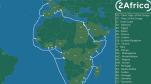 """Không sợ """"cá mập cắn"""" Facebook sẽ đặt cáp quang biển bao quanh châu Phi"""