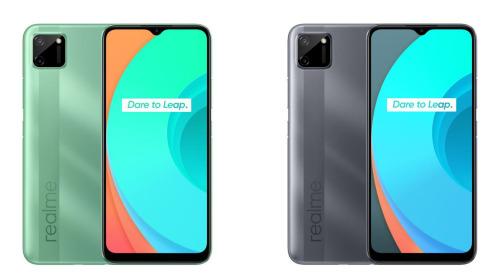 """Realme C11 ra mắt: Màn hình """"giọt nước"""", camera kép, Helio G35, pin 5000mAh, giá 2.3 triệu đồng"""