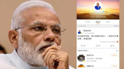 """Thủ tướng Ấn Độ """"nghỉ chơi"""" mạng xã hội Weibo của Trung Quốc"""