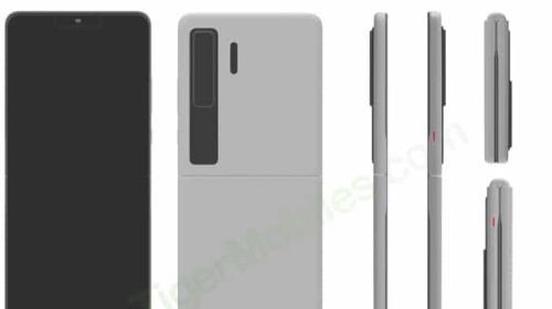 Huawei đáp trả Samsung với smartphone màn hình gập vỏ sò giống Galaxy Z Flip