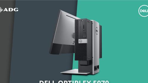 """Máy tính bàn Dell OptiPlex 5070: Cấu hình """"ngon lành cành đào"""" ẩn trong thiết kế nhỏ gọn, dễ dàng nâng cấp"""