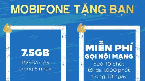 MobiFone tặng data, miễn phí cuộc gọi cho thuê bao bị ảnh hưởng bởi sự cố ngày 29/9