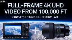 Sigma buộc 2 chiếc máy ảnh vào bóng bay để chụp lại ảnh Trái đất từ Vũ trụ
