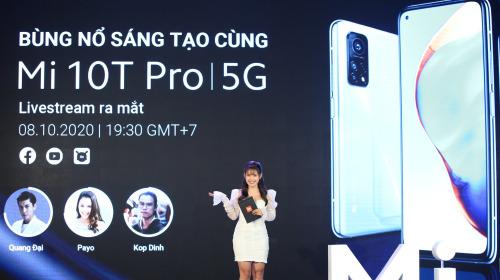 Xiaomi Mi 10T Pro ra mắt: Màn hình 144Hz, camera 108MP, Snapdragon 865, giá từ 11.9 triệu đồng