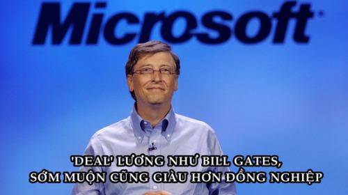 Bill Gates 'ứng tuyển' vào Microsoft: Nhìn cách 'deal' lương mới hiểu không sớm thì muộn ông cũng giàu hơn đồng nghiệp rất nhiều!