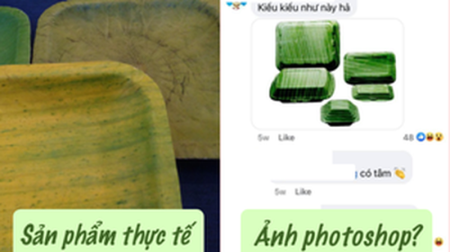 """Startup hộp lá chuối chưa kịp """"comeback"""" sau khi tố 10 bên ăn cắp chất xám đã bị netizen tố ngược vì xài ảnh photoshop để bán hàng"""