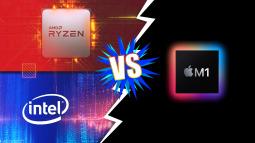 Bị CPU di động từ AMD và Intel đả bại, hiệu năng chip M1 kém xa lời Apple 'chém gió'?