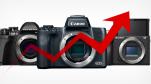 Lượng máy ảnh không gương lật bán ra tại Nhật Bản đã tăng 128.9% trong tháng 10