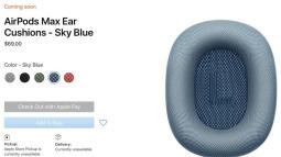 Đệm tai thay thế cho AirPods Max của Apple có giá lên tới 69 USD, không có củ sạc, cáp âm thanh giá 35 USD