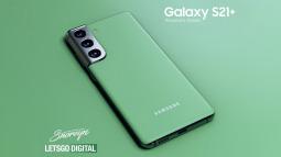 Galaxy S21+ sắp có thêm phiên bản màu xanh lá Phantom Green?