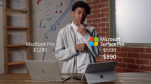 """Microsoft tung quảng cáo nói rằng Surface tốt hơn MacBook M1, cư dân mạng lập tức """"ném gạch"""""""