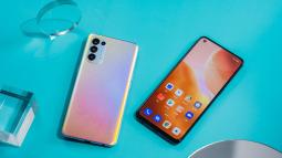 OPPO Reno5 là smartphone chính hãng được ưa chuộng hàng đầu tháng 1/2021