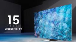 Samsung là nhà sản xuất TV đạt top đầu về doanh số trong 15 năm liên tiếp