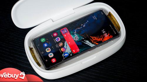 Điện thoại bẩn hơn toilet 10 lần, nhưng bỏ ra 1.5 triệu mua máy khử khuẩn UV cho nó liệu có đáng?